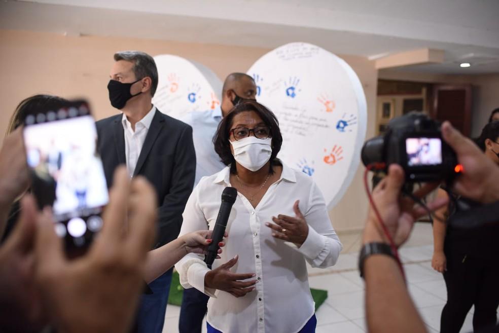 Gisela Simona confirma candidatura  — Foto: Divulgação