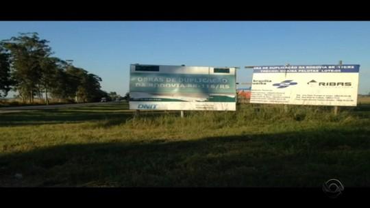 Lote de obra de duplicação na BR-116 no Sul do RS receberá verba para retomada