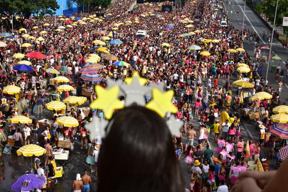 Desfile do Então, Brilha! — Foto: Antonio Salaverry/Arquivo Pessoal