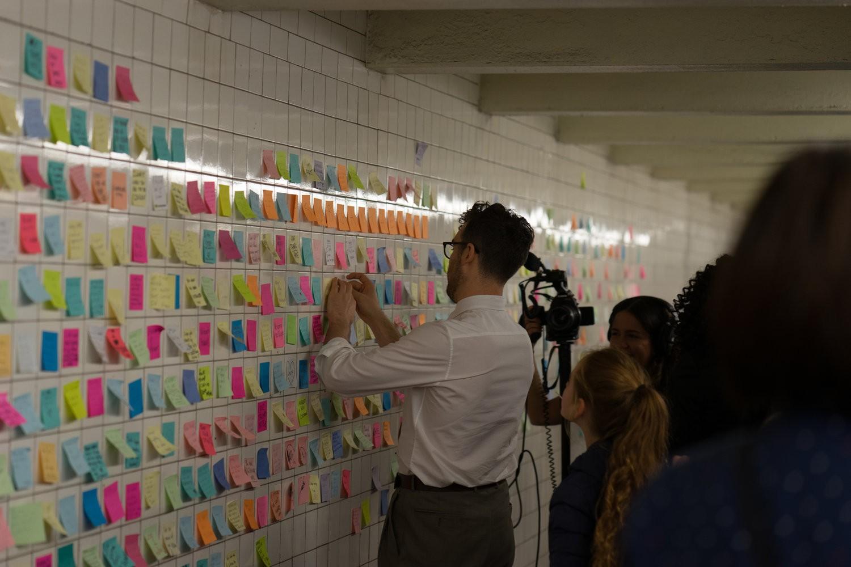 Movimento surgiu nos EUA em 2016, após a eleição de Donald Trump (Foto: Divulgação/Subway Therapy)