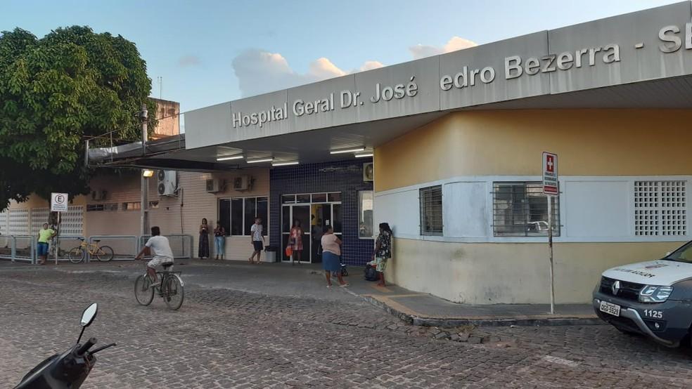 Hospital Santa Catarina, na Zona Norte de Natal — Foto: Sérgio Henrique Santos/Inter TV Cabugi