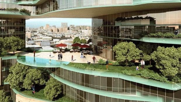 prédio verde Toronto (Foto: Divulgação)