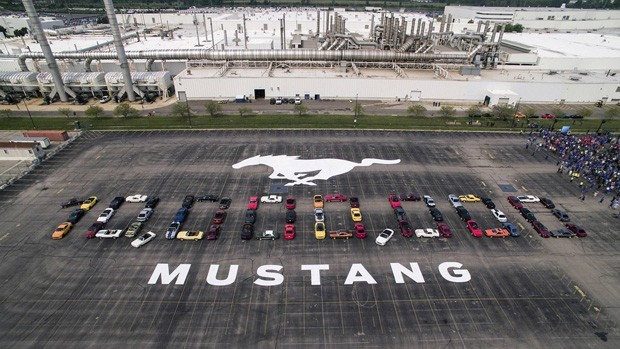 Ford Mustang 10 million (Foto: divulgação)