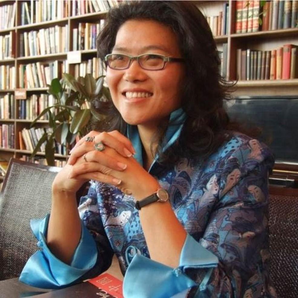 Para a escritora Lijia Zhang, casamentos que continuarem após o coronavírus devem ficar mais forte. — Foto: Divulgação/BBC