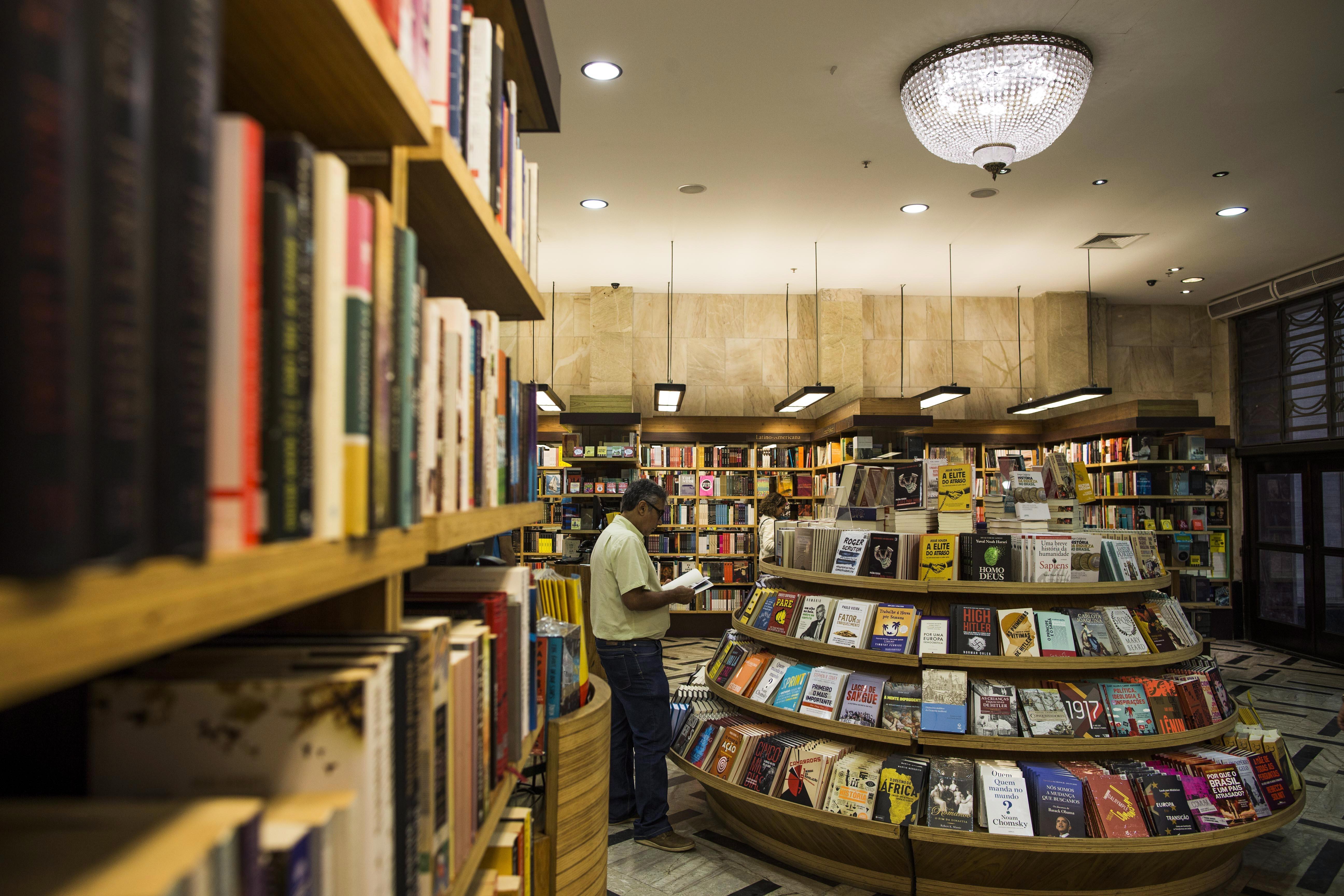Livraria no Rio