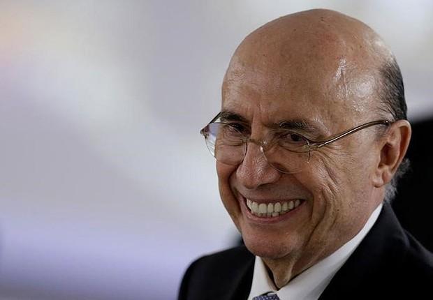 O ministro da Fazenda, Henrique Meirelles, durante reunião no Palácio do Planalto em Brasília (Foto: Ueslei Marcelino/Reuters)