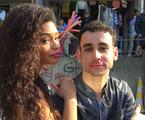 Juliana Alves e Paulo Verlings  | Arquivo pessoal