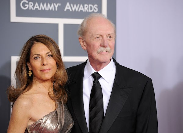 O baterista do grupo Allman Brothers, Butch Trucks, com sua esposa, Melinda (Foto: Getty Images)