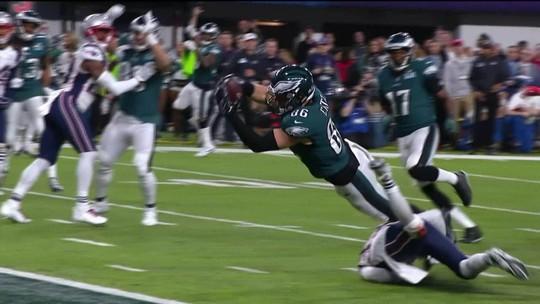 Philadelphia Eagles conquista título inédito no SuperBowl