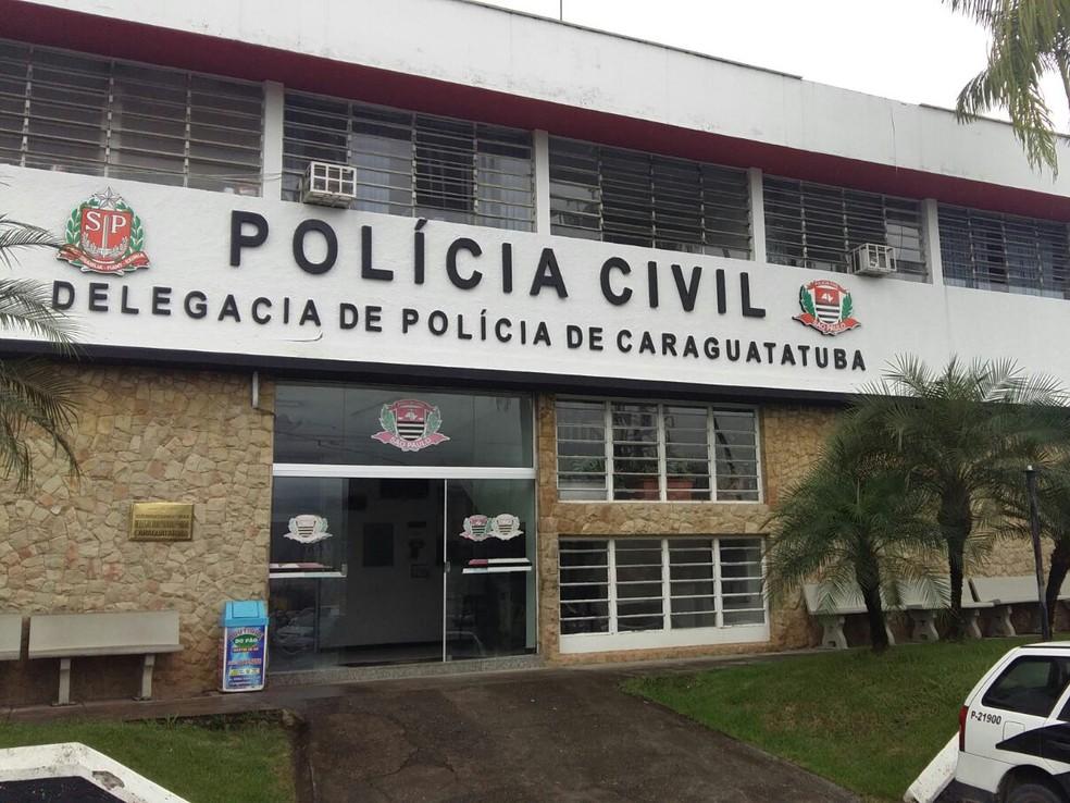 Caso foi registrado na delegacia de Caraguatatuba — Foto: TV Vanguarda