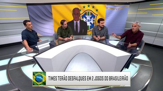 Seleção analisa desfalques de clubes brasileiros por causa da lista de Tite