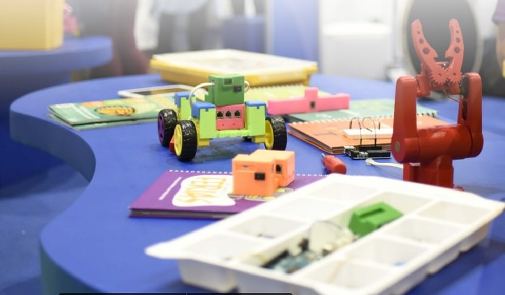 Laboratório de robótica Include vai trabalhar com jovens de escolas públicas — Foto: Divulgação