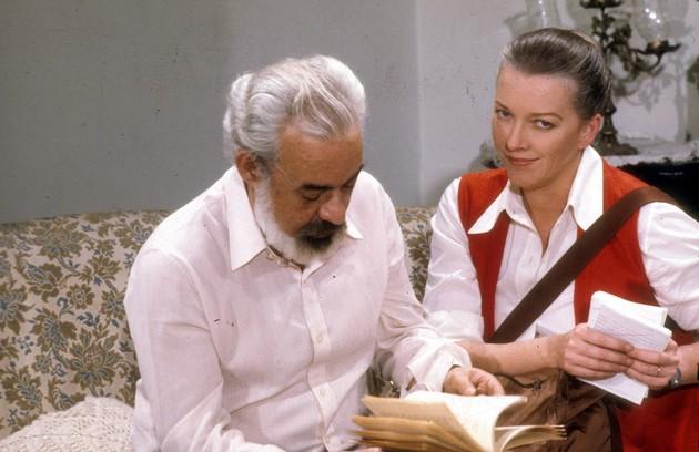 Leila Lemmertz, mãe de Julia, foi a Helena de 'Baila comigo' (1981), com Fernando Torres no elenco (Foto: Adir Mera)