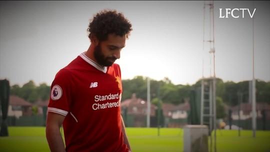 Salah no centro das atenções no confronto entre Liverpool e Roma