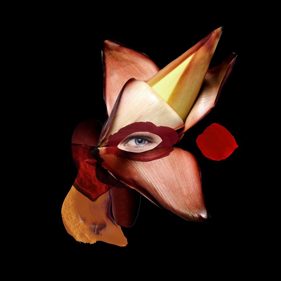 Capa do single 'Politizado', de Luiza Meiodavila — Foto: Arte de Karen Hofstetter