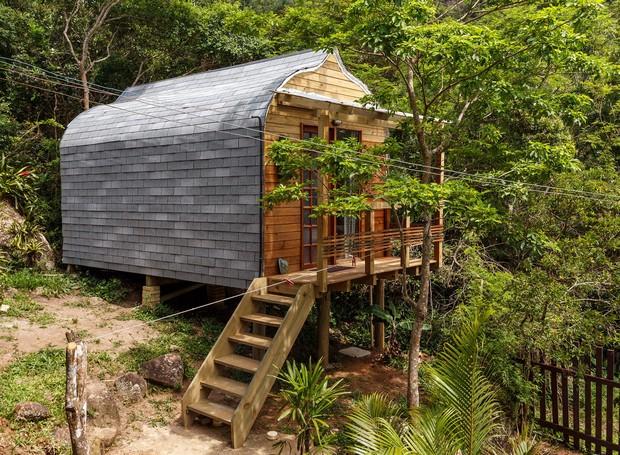 Casa Chalé para dois, Florianópolis, Brasil (Foto: Airbnb/Reprodução)