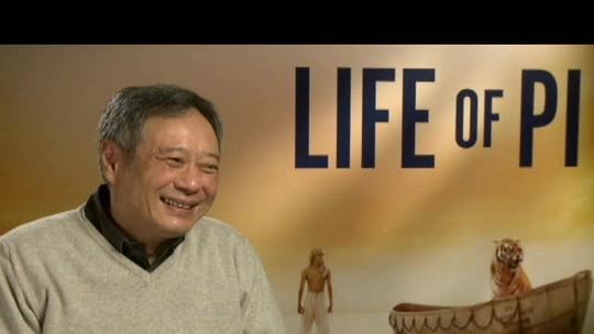 Assista à entrevista exclusiva com Ang Lee, diretor do filme 'As aventuras de Pi'