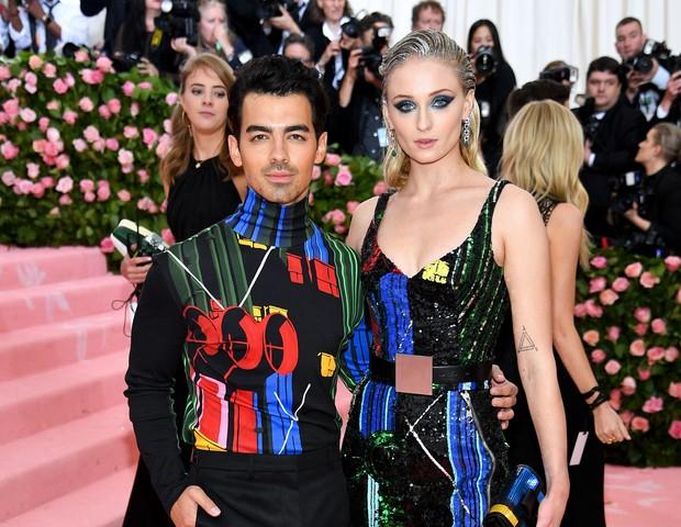 Joe Jonas e Sophie Turner  (Foto: Getty Images)
