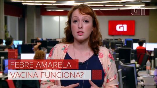 Febre amarela: Vacina sem efeito? Própolis salvador? Veja mitos