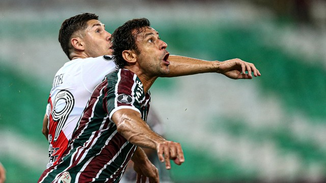 Fluminense jugó duro ante River en Maracaná