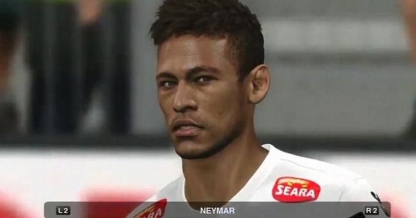 Neymar aparece em imagens impressionantes de PES 2014