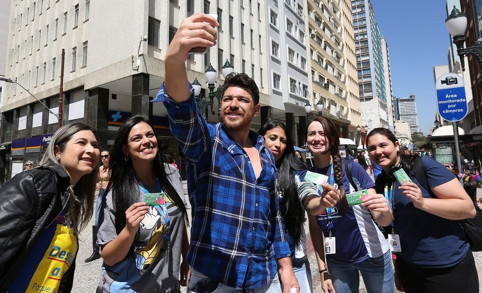 Cezar Lima, vencedor do BBB 15, não se elegeu em Curitiba — Foto: Giuliano Gomes/PRPRESS