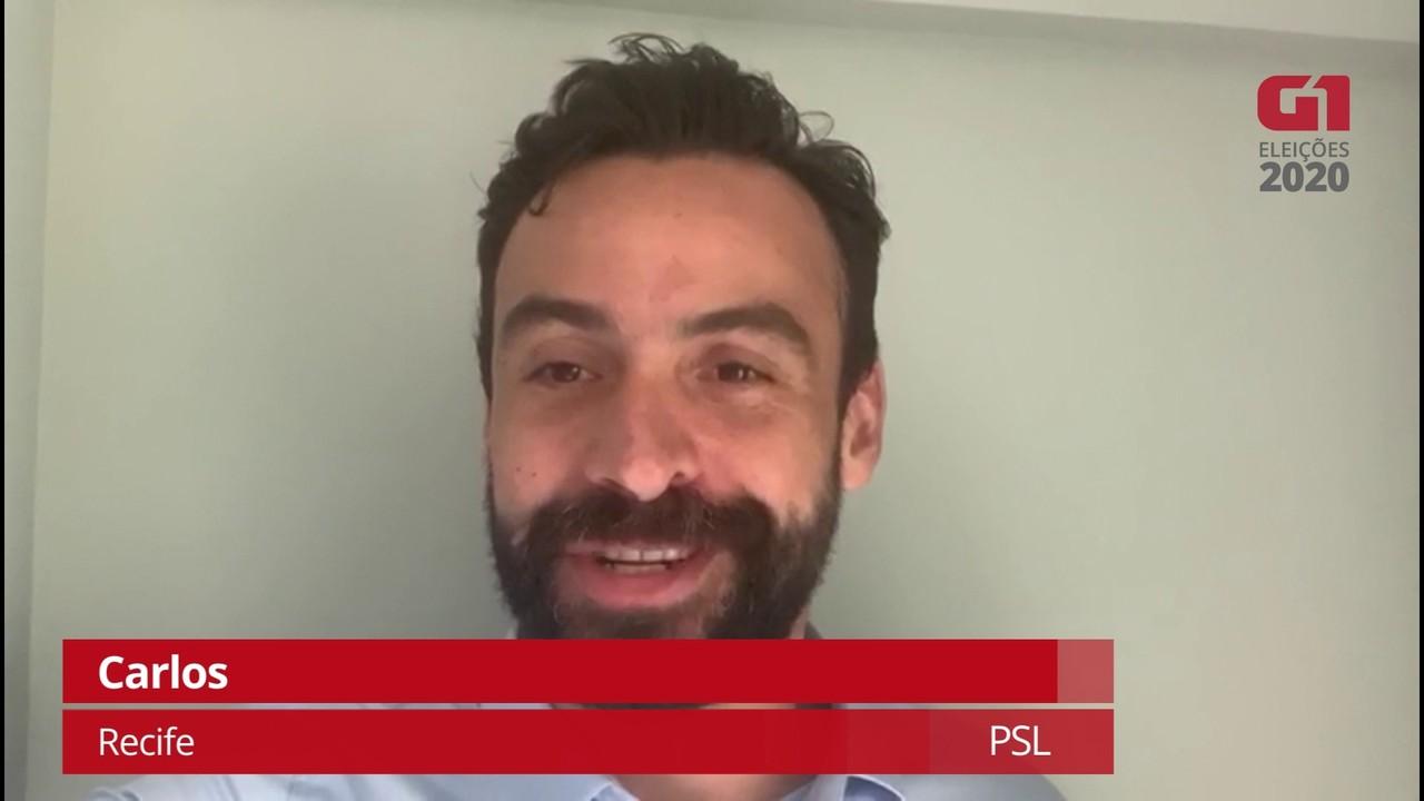 Carlos (PSL) explica como pretende combater a corrupção no Recife