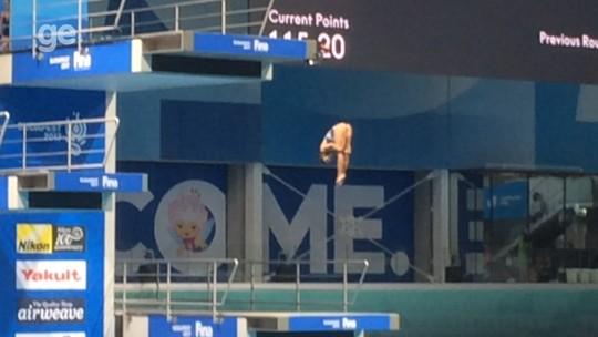 Sem grandes competições, Ingrid foca em salto que só uma atleta no mundo faz
