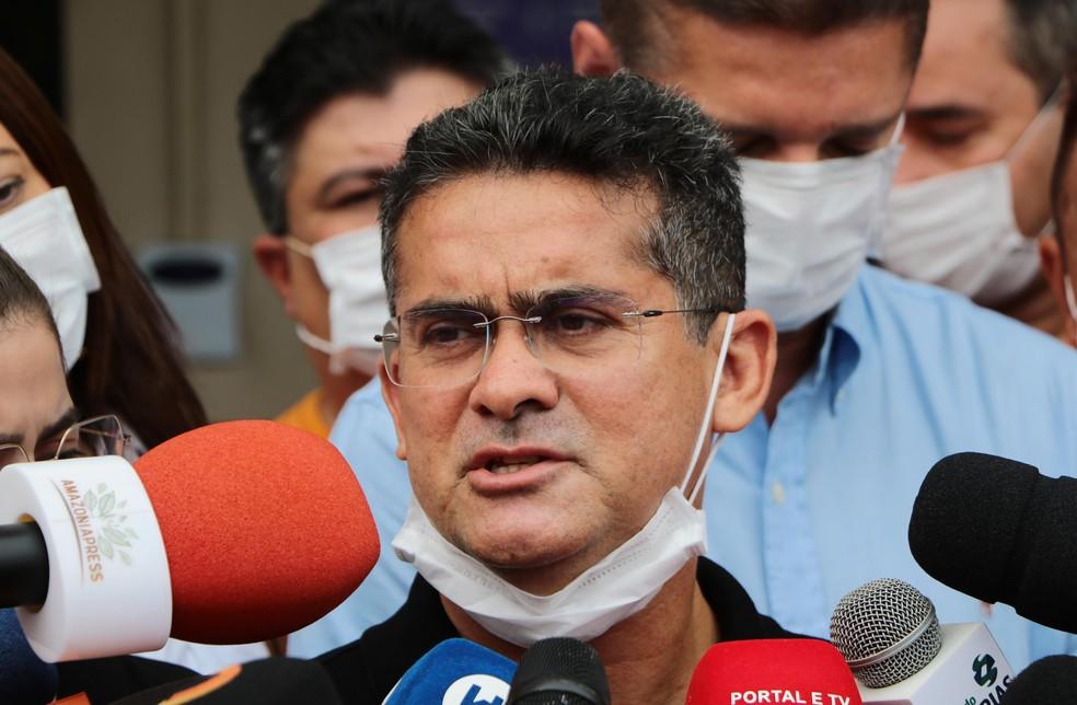 David Almeida, eleito prefeito de Manaus — Foto: EDMAR BARROS/FUTURA PRESS/FUTURA PRESS/ESTADÃO CONTEÚDO