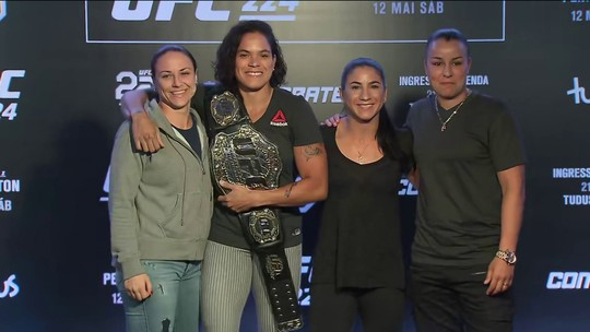 Amizade entre Amanda Nunes e Raquel Pennington vai ser posta em jogo no UFC 224