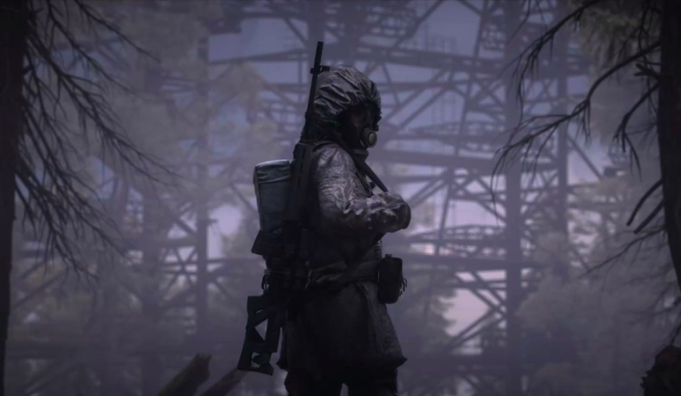 Stalker 2 se passa em Chernobyl, povoado por aberrações que assombram o local — Foto: Divulgação/Microsoft