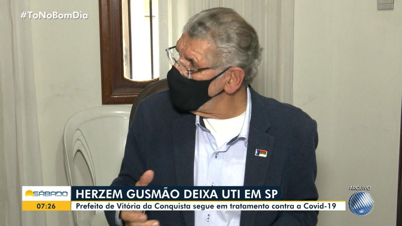 Com Covid-19, prefeito de Vitoria da Conquista deixa UTI e tem melhora clínica