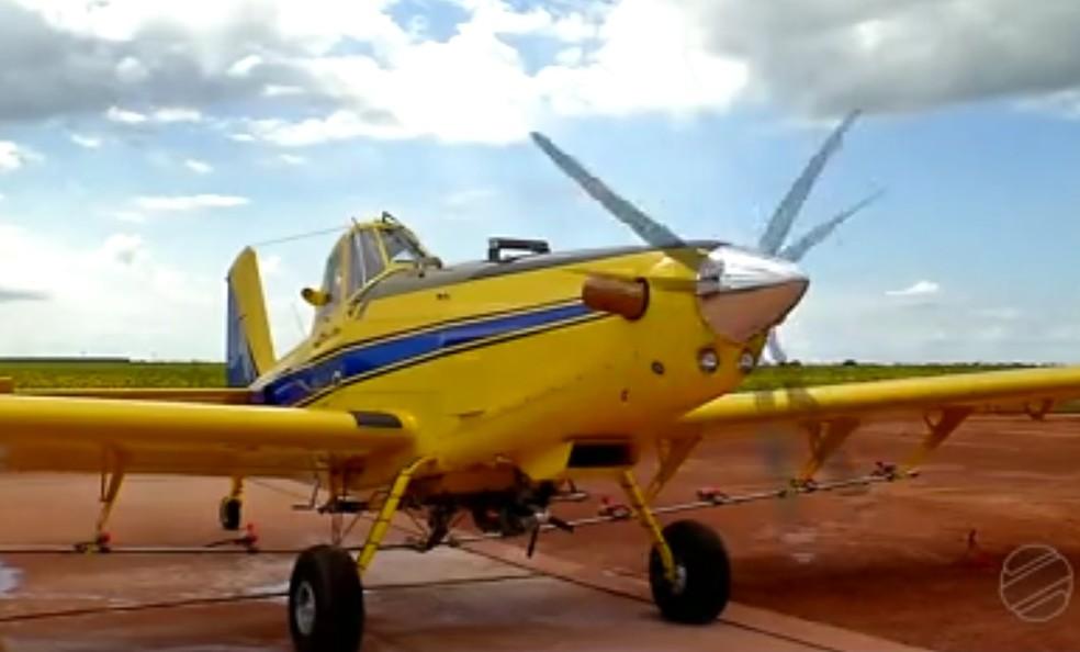 Aeronave custa 500 mil dólares e foi comprado nos Estados Unidos (Foto: TVCA/Reprodução)