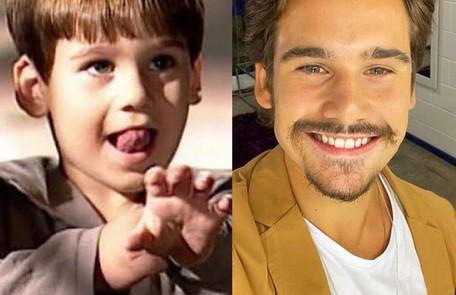"""Nicolas Prattes, que fez """"Éramos seis"""" como Alfredo, participou do último capítulo da novela como o filho de Giuliana e Matteo TV Globo - Reprodução/Instagram"""