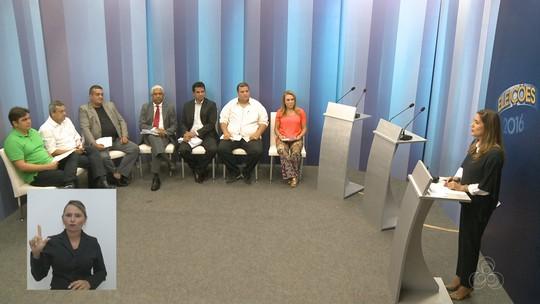 Candidatos à Prefeitura de Boa Vista debatem na Rede Amazônica