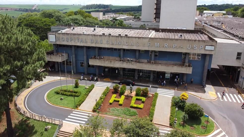 Hospital das Clínicas de Ribeirão Preto, SP — Foto: Reprodução/EPTV