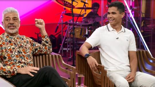 No 'Conversa Com Bial', Lulu Santos e o marido, Clebson Teixeira, dão primeira entrevista juntos