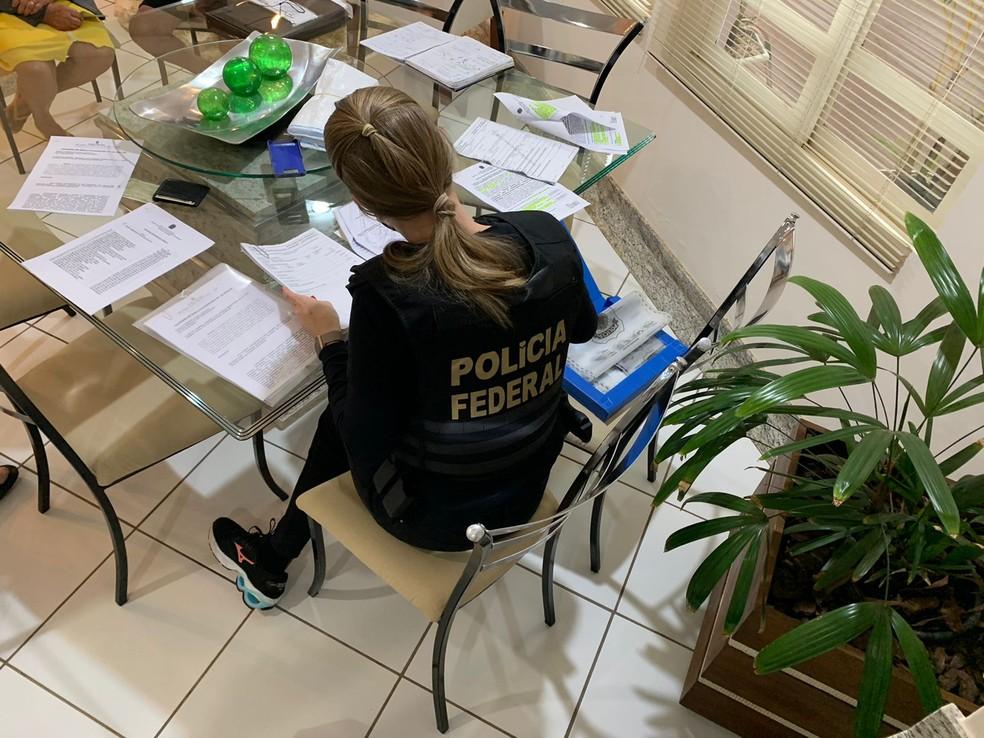 Polícia Federal cumpre mandados de busca de apreensão em Avaré e outras cidades paulistas contra sonegação fiscal — Foto: Polícia Federal/Divulgação