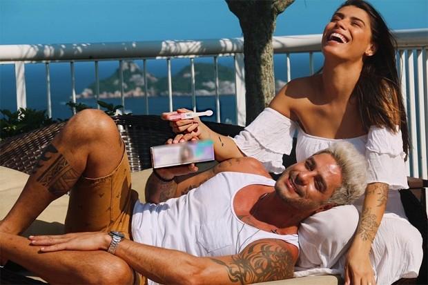 Diego e Franciele Grossi (Foto: Reprodução/Instagram)