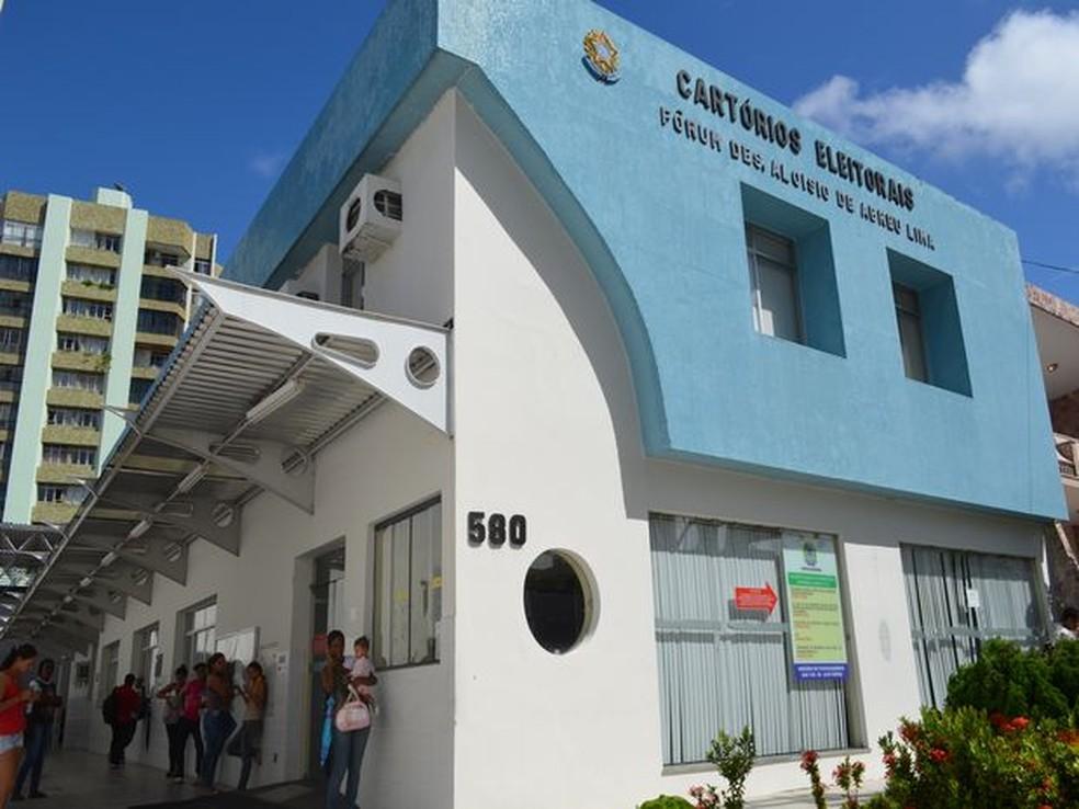 Cartório Eleitoral do TRE Sergipe — Foto: Marina Fontenele/G1/Arquivo