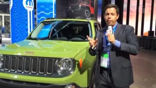 Jeep lança edição limitada de 75 anos para Renegade e Wrangler