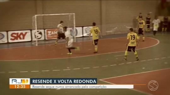 LC e Juninho marcam três cada um e comandam goleada de Resende sobre Volta Redonda