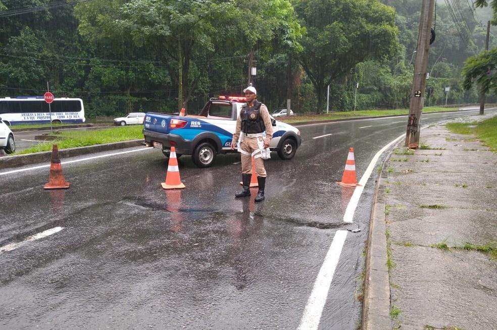 Guarda Municipal divulga plano para bloquear ruas do Rio durante chuvas fortes — Foto: Divulgação