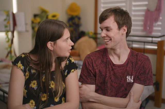 Cena de 'Love on the spectrum', da Netflix (Foto: Netflix)