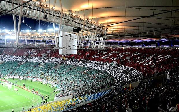 mosaico torcida fluminense é o destino (Foto: André Durão / Globoesporte.com)