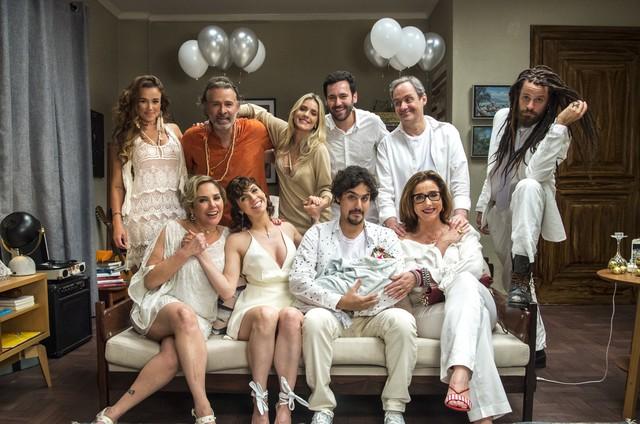 Elenco de 'Pais de primeira' grava último episódio do ano (Foto: Estevam Avellar/TV Globo )