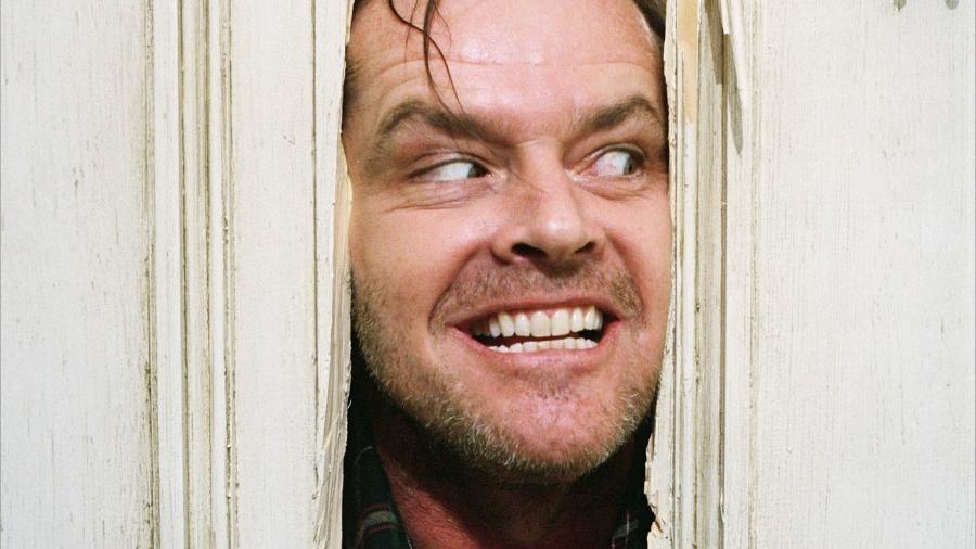 Jack Nicholson em O Iluminado (Foto: Reprodução)