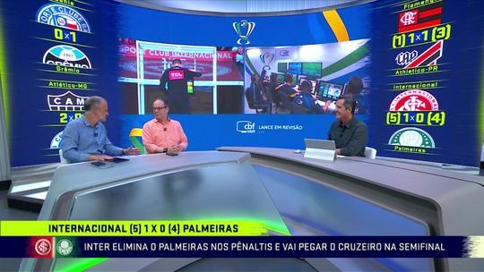 """Classificado, Inter explode contra arbitragem: """"Uma vergonha. O Palmeiras não precisa disso"""""""