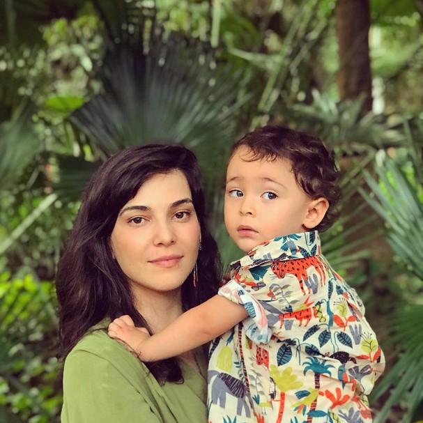 Tainá Müller e o filho, Martin (Foto: Henrique Sauer / Instagram/Reprodução)