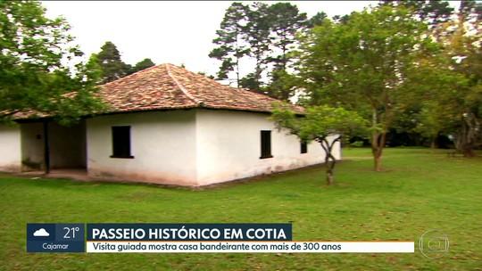 Casa com mais de 300 anos construída por índios é ponto turístico em Cotia